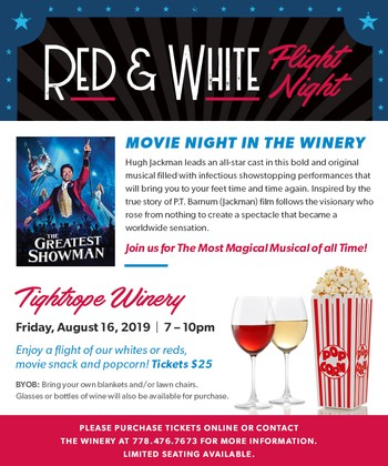 Red & White Flight NIght