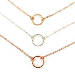 Circle Necklace - Ebb + Flow